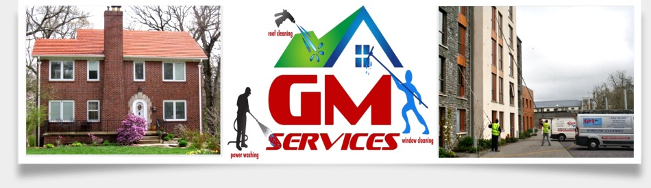 GM Services for Window Cleaning, Roof Cleaning and Power Washing. Specialising in Waterfed Pole Cleaning System, Cork, Ireland